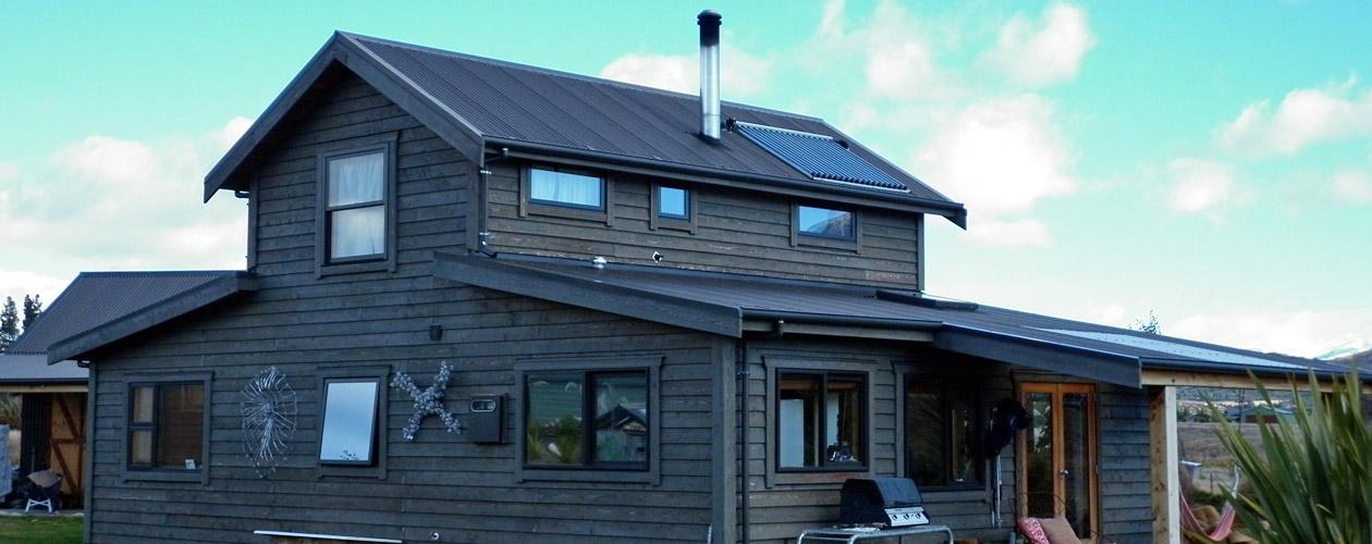 Lake Hawea Barn-Style Home